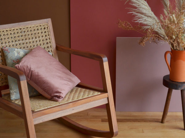 Fauteuil cannage