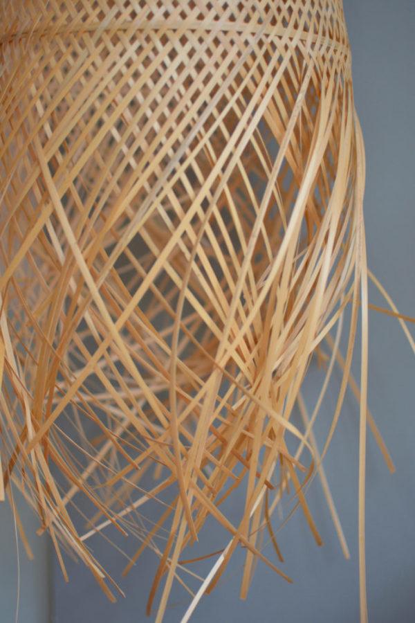 Suspension bambou
