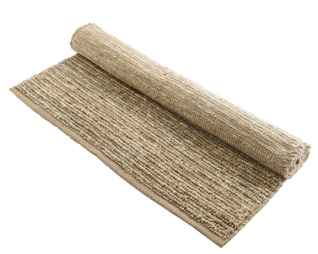 tapis jute tapis jute de mati re et couleur naturelles 120x180 cm. Black Bedroom Furniture Sets. Home Design Ideas
