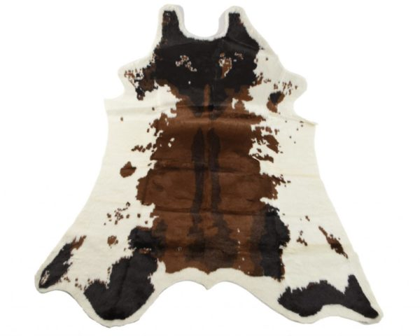 Tapis peau de vache - Très belle imitation tapis peau de vache 150x200cm