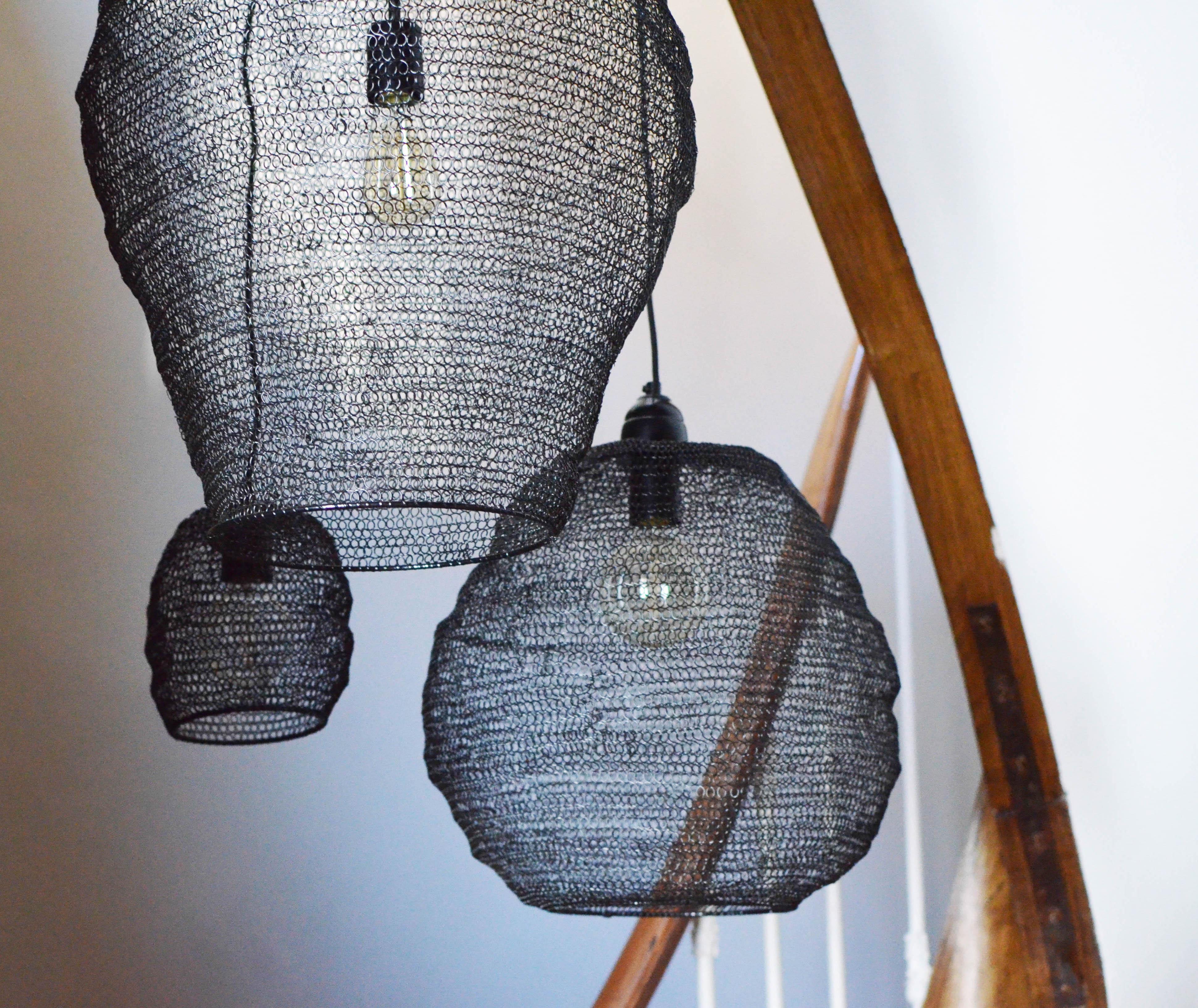 suspension luminaire metal 1 maison roussot. Black Bedroom Furniture Sets. Home Design Ideas