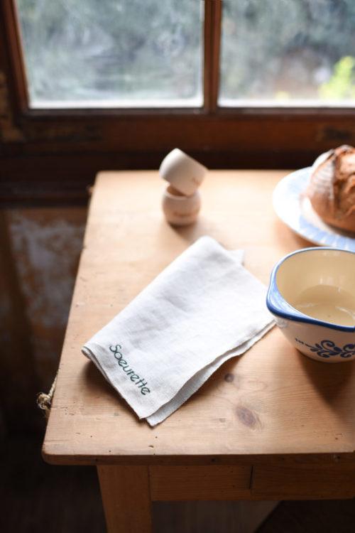 serviette de table simple